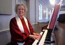 longest tenure as a church pianist and organist Ida Mae Cumbest