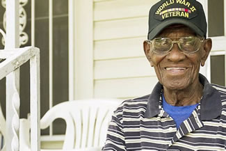 Richard Overton is World's oldest living World War II veteran, and at age 111 he still drinks, smokes, and drives his own pickup.
