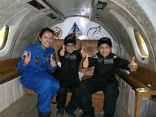 The children, including the new world record holder Jules Nader, performed flawlessly 18 parabolas with a total of 282 seconds in zero G and Lunar gravity, none of them were affected adversely, proving that, with a proper training, children and youngsters can do scientific tasks in microgravity environments, like space.