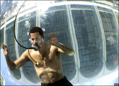 I believe that fear of life brings a gre by David Blaine ...