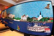 largest bead mosaic Stephan Wanger