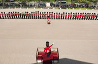 longest trumpet fanfare line London