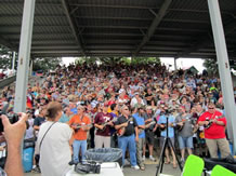 largest mandolin ensemble in Galax