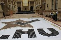 largest coffee mosaic Budapest