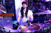 longest drumming session world record set by Andrew W.K.