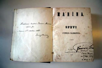 the title page of first edition of love poem