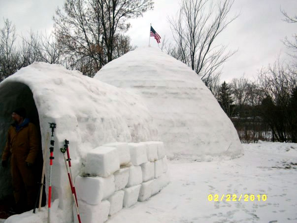 Largest Igloo World Record Set By Bigloo