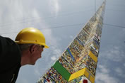 tallest Lego tower Brazil