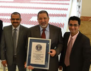 largest plastic bottle mosaic world record set by Procter & Gamble and Transmed