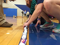 Students smashed the Guinness World Record for the longest line of toothpaste tubes ever set up in one place. The original record stood at 1,667 tubes; but John Carroll students collected more than 2,000 tubes!