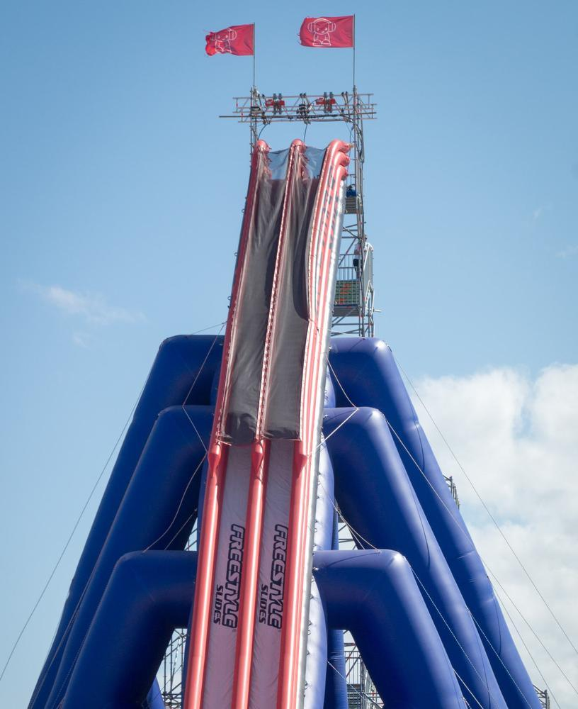 Tallest Inflatable Water Slide In The World