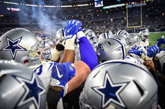 The Dallas Cowboys are the world's most valuable sports team for 2016, worth about $4 billion.