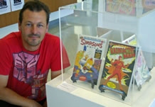 biggest comic book collection Brett Chilman