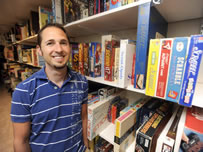 largest collection of board games Jeff Bauspies