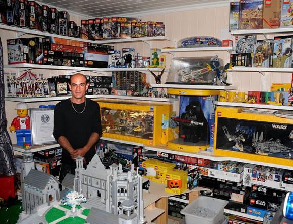 Largest Collection Of Star Wars Lego Kits Jon Jessesen