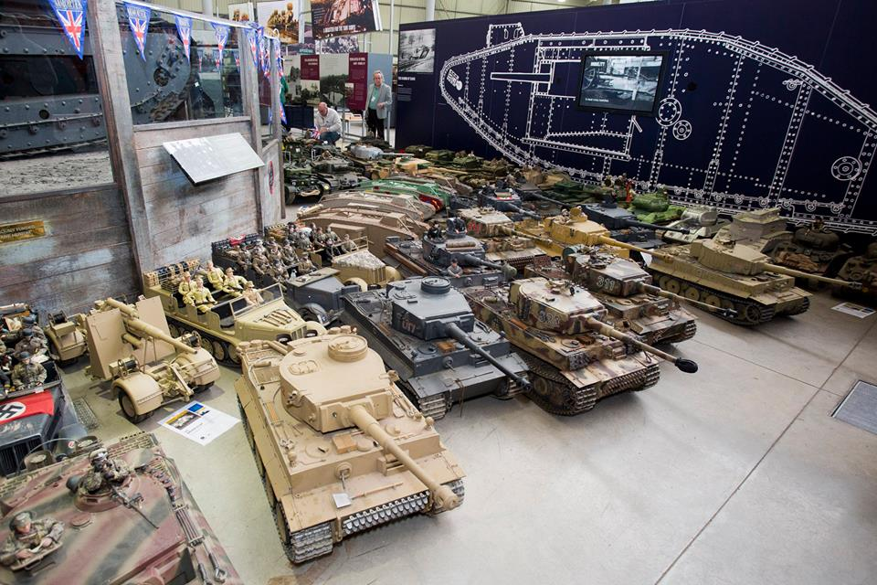 Largest Collection Of Model Armour Tanks The Tank Museum