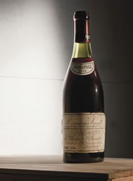 most expensive bottle of Red Burgundy