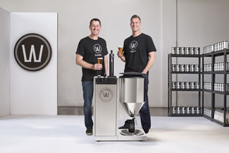 Brewmaster Ian Williams and food technologist Anders Warn worked for two years to develop the WilliamsWarn Personal Brewery. The WilliamsWarn Personal Brewery boasts 6 key technical features, which when combined together would create the first brewing appliance in the world.