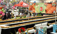 world's longest BLT sandiwch by Associated Wholesale Grocers