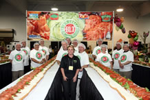 largest BLT sandwich Associated Wholesale Grocers
