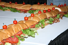 worlds largest BLT sandwich by Associated Wholesale Grocers