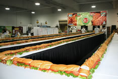 largest BLT sandwich by Associated Wholesale Grocers
