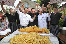 largest serving of fish and chips
