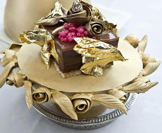 fabergé chocolate pudding most expensive food in the world