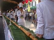 worlds longest sushi roll Semarang Indonesia