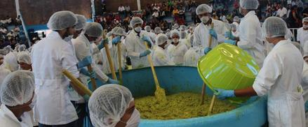 Largest Serving Of Guacamole Mexico Breaks Guinness World