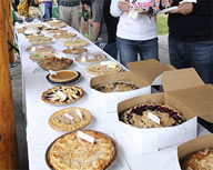 Antoine and Tania Issa broke the Guinness World Records' world record for the most money spent on a single pie at auction. The Issa's purchased Renae Chrisman's pie for $5,000. The previous Guinness World Records' world record was $3,100 spent on a pie. The auction was part of the Village Green Foundation's annual Pie in the Park fundraiser, held at Village Green Park.
