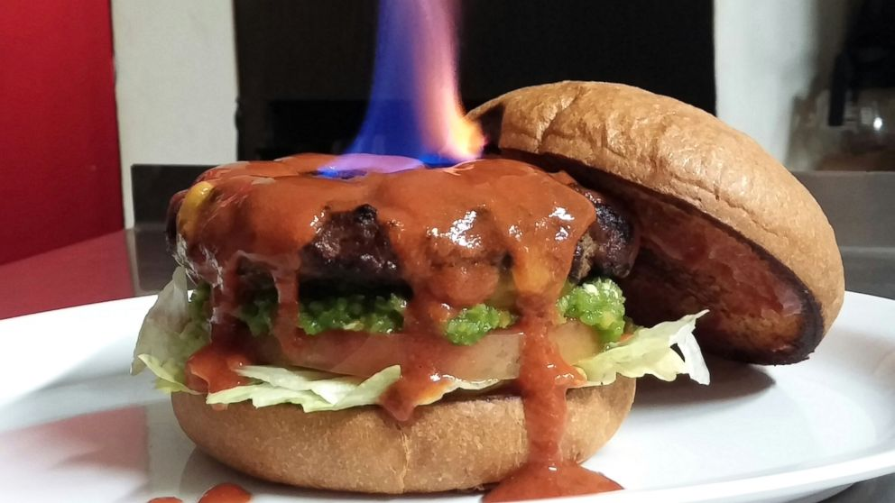 Hottest Burger The Hellfire Sets World Record Video