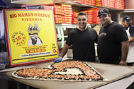 The Huffington Post partnered with @BigMamasNPapas to make the biggest heart-shaped pizza ever for #Valentinesday. After completion, the pizza was delivered and donated to the ER Team at Providence Saint Joseph Medical Center.