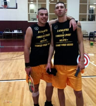 longest pickleball game Jeffrey Baker Justin Lawrence