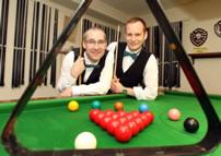 longest snooker marathon world record set by Nick Barrett and Andy Osborne