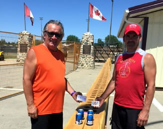 Weyburn's Darcy Iversen built, the World Record for the largest cribbage board. Iversen created the cribbage board from one tree in his shop and the board is 50 feet, 11 inches long. The board is fully functional and can be played using cans or bottles as pegs.