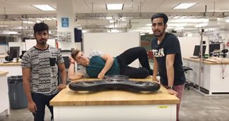 Four students gained publicity all over the Metroplex by building a 150 pound fidget spinner which sets the new records for the largest forbearing fidget spinner, the longest spinning and for the heaviest.