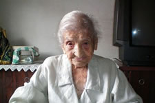 oldest living person Maria Gomes Valentim