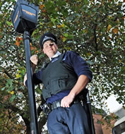 world's tallest policeman PC Anthony Wallyn