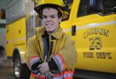 world's shortest firefighter Vince Brasco