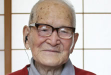 oldest person world record set by Jiroemon Kimura