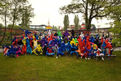 largest gathering of smurfs