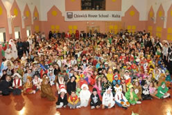 largest gathering of people dressed as storybook characters: Chiswick House School