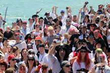 largest gathering of pirates Penzance