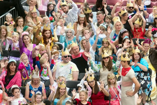 Trinity Walk shopping centre teamed-up with Huddersfield's Forget Me Not Children's Hospice to attempt to smash the Guinness World Record for the largest gathering of people dressed as a princess. A whopping 433 were counted in the official attempt area, beating the current record of 419.