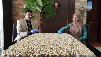 Dr Nizar Abdul Rahman holds the world record for having extracted, processed and collected 10,000 teeth.