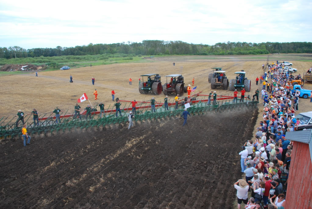 Largest Operational Agricultural Plow - Manitoba ...