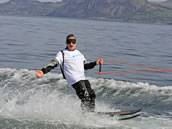 blind water skier Steve Thiele breaks Guinness World Record