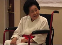 Sensei Keiko Fukuda world's first women to earn highest level black belt