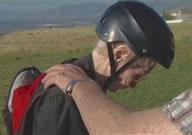 world's oldest female to paraglide tandem Mary Ellen Hardison